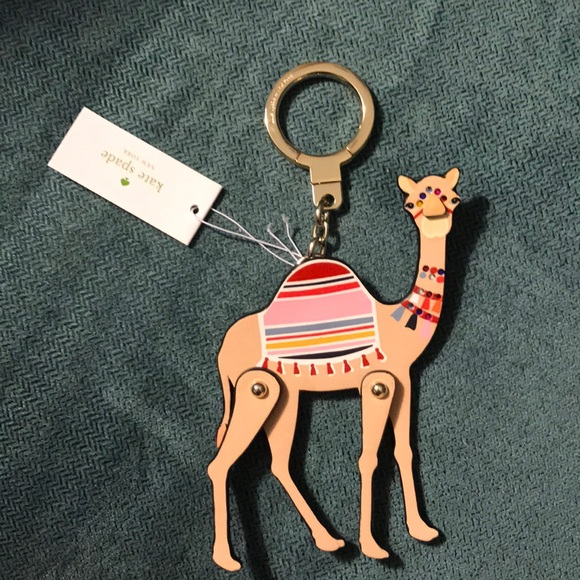 Kate Spade Camel Keychain ♤️ 130c2aea2